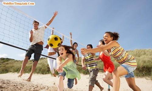 Tổng hợp các câu hỏi giao tiếp cơ bản về chủ đề Sport /Exercise - Thể dục /thể thao