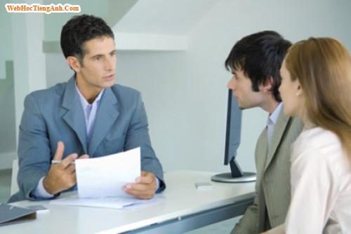 Phỏng vấn xin việc bằng tiếng anh: Nói về kinh nghiệm làm việc