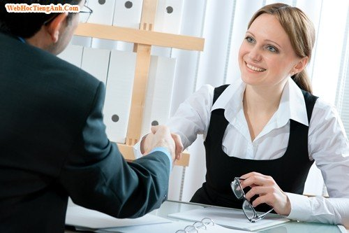 7 câu hỏi thường gặp trong phỏng vấn bằng tiếng Anh