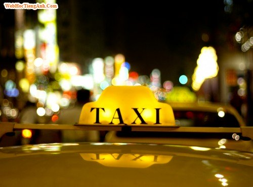 Những câu giao tiếp tiếng Anh khi đi taxi